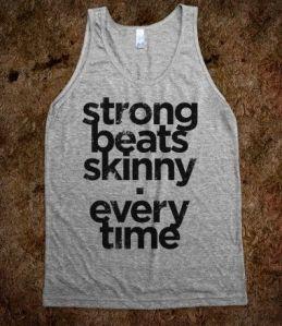 Strong Beats Skinny tank