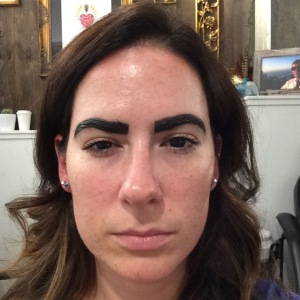 Dying brows